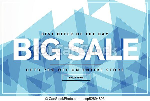 big same abstract voucher design template - csp52894803