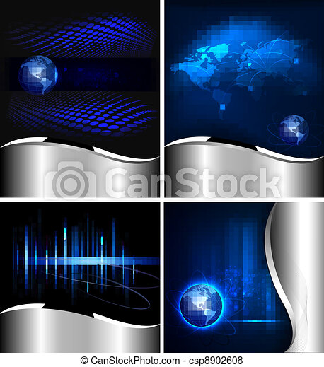 Big set of abstract backgrounds - csp8902608