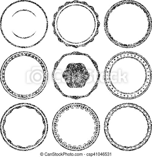 big set of grunge templates for rubber stamps vectors search clip