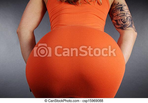 big sexy butt - csp15969088