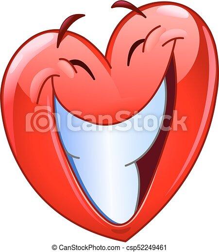 Big smile heart - csp52249461