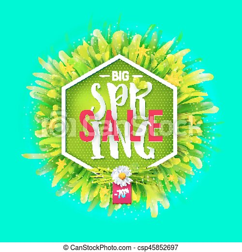 Big spring sale - csp45852697