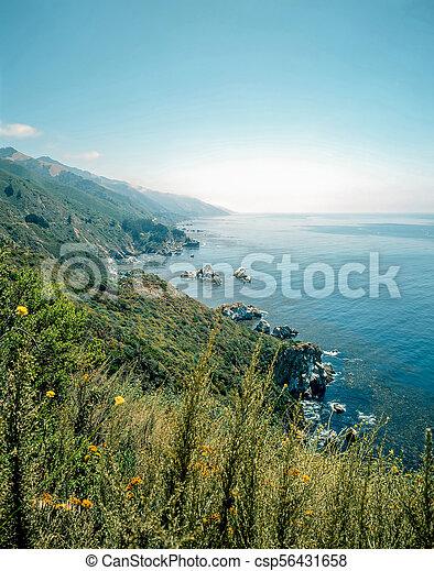 Big Sur, California - csp56431658