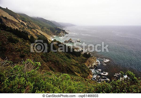 Big Sur in California - csp61466933