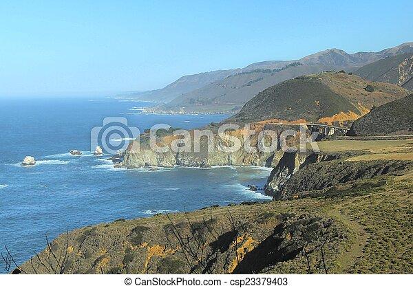Big Sur view - csp23379403