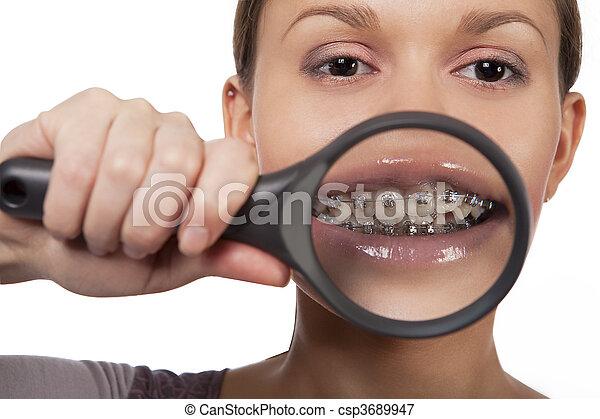 Girl With Big Teeth