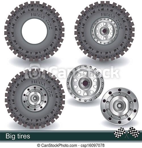 big tires - csp16097078