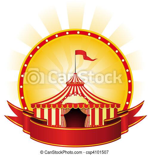 Big Top Circus - csp4101507
