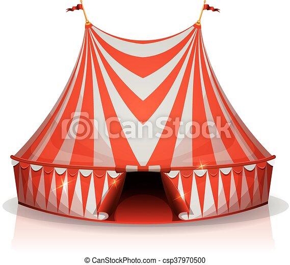 Big Top Circus Tent - csp37970500