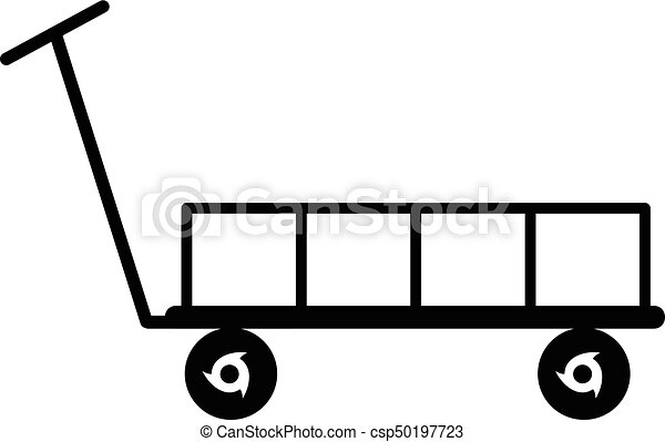 big trolley icon simple black style big trolley icon vector rh canstockphoto com shopping trolley clipart free clipart trolley car
