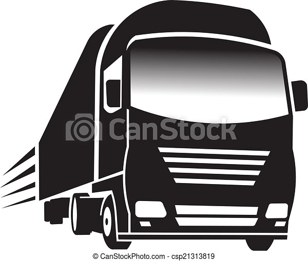 Big Truck. Concept of transportation and cargo. - csp21313819