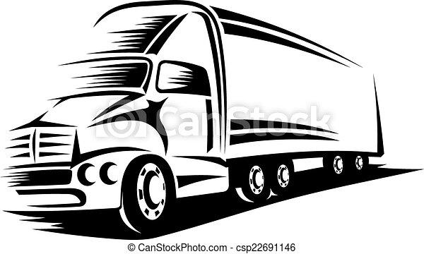 Big truck - csp22691146