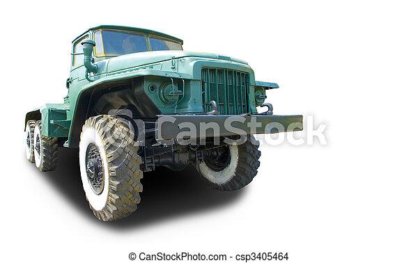 Big Truck - csp3405464