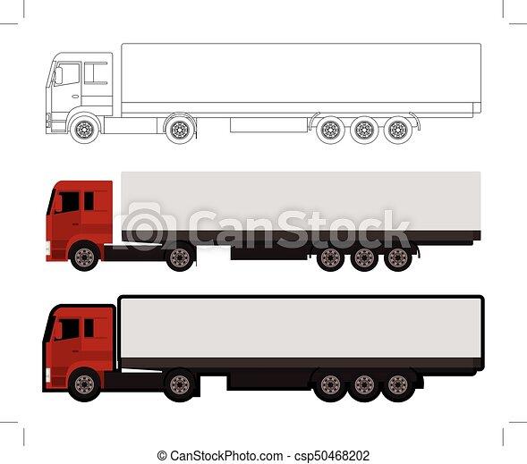 big truck - csp50468202