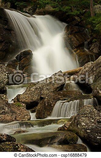 Big Waterfall - csp16888479