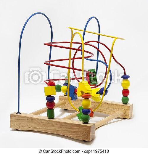 Metal Tube Roller Coaster Toy