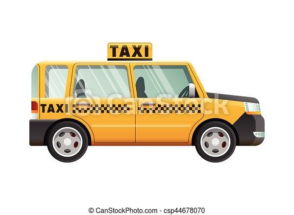 Yellow Taxi Cab Checker