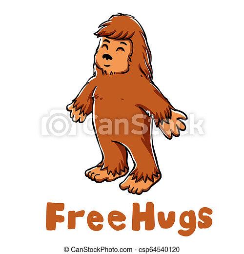 Bigfoot Hug
