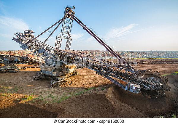 Biggest Excavator In The World Working Bagger 228 Ukraine Big Mine Develop Mineral Resources Excavator Digs Metallurgy