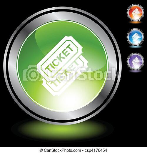biglietto, evento - csp4176454