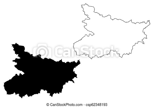 Bihar Map Bihar States And Union Territories Of India Federated