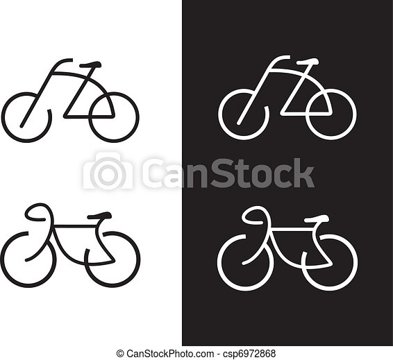 Bike, bicycle - icon - csp6972868