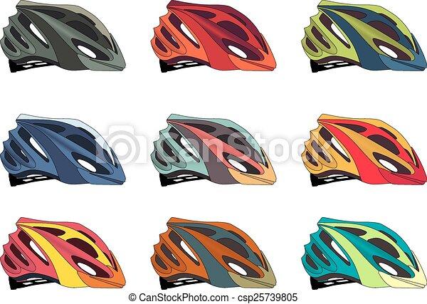 Bike helmet - csp25739805