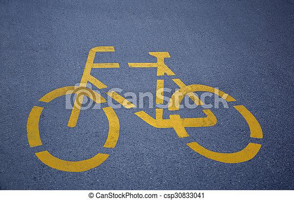 Bike Lane - csp30833041