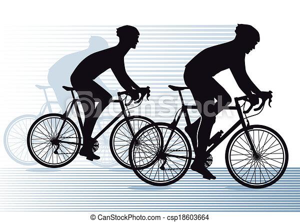 bike race - csp18603664