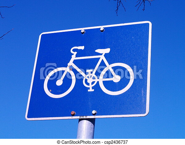 bike sign - csp2436737