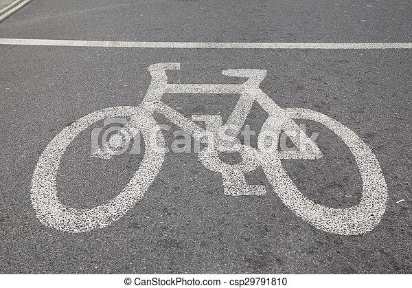 Bike Sign - csp29791810
