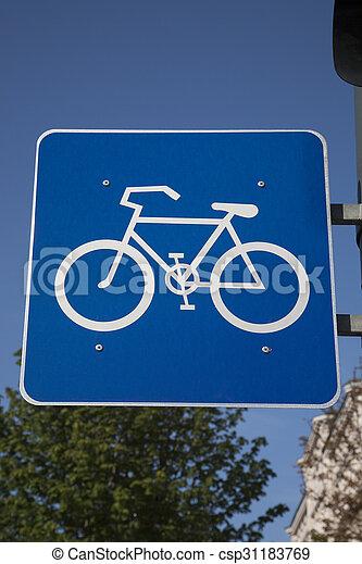 Bike Sign - csp31183769