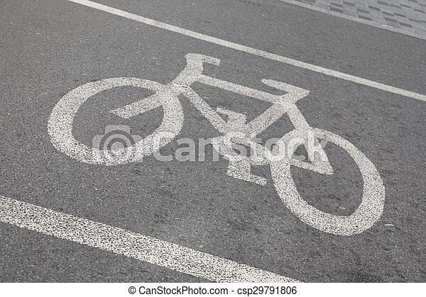 Bike Sign - csp29791806