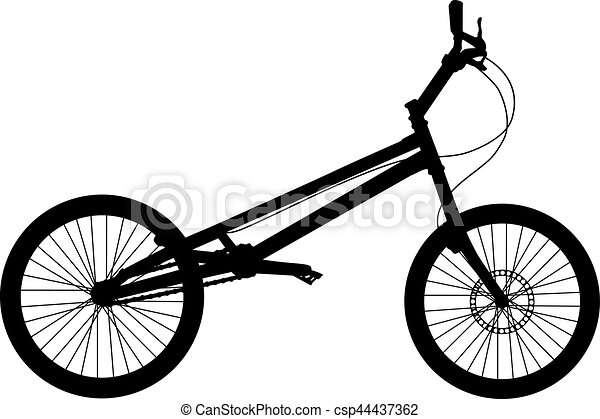 bike vector silhouette bike detailed vector silhouette clip art rh canstockphoto com vector bike vector bike price