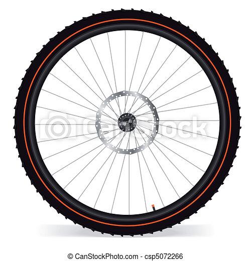 Bike wheel - csp5072266