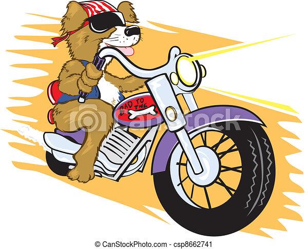 Biker Mutt - csp8662741
