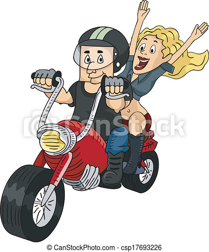 biker, par - csp17693226