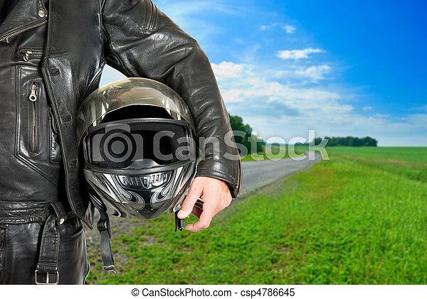 biker - csp4786645