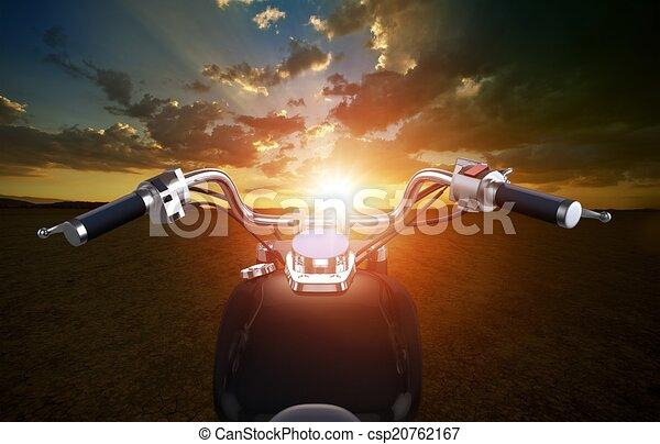 Biking Travel Concept - csp20762167