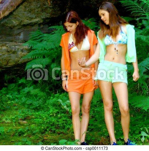 Bikini Babes - csp0011173