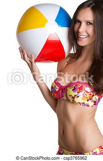Bikini Girl - csp3765962