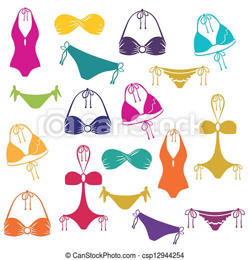 Bikini icon - csp12944254