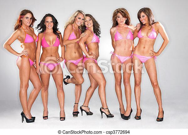 Bikini Models - csp3772694