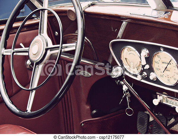 bil, årgång - csp12175077