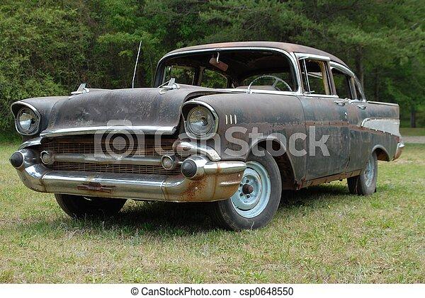 bil, årgång, försäljning - csp0648550
