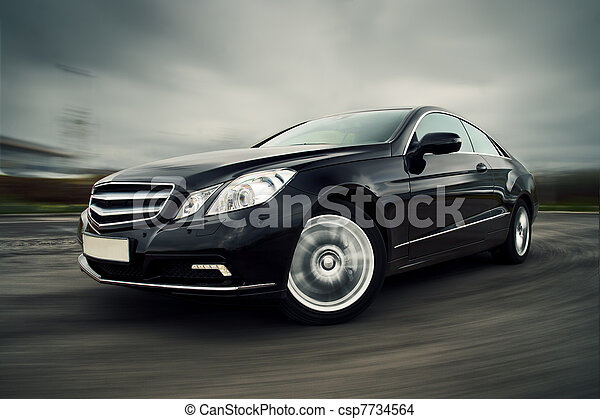 bil, driva fast - csp7734564