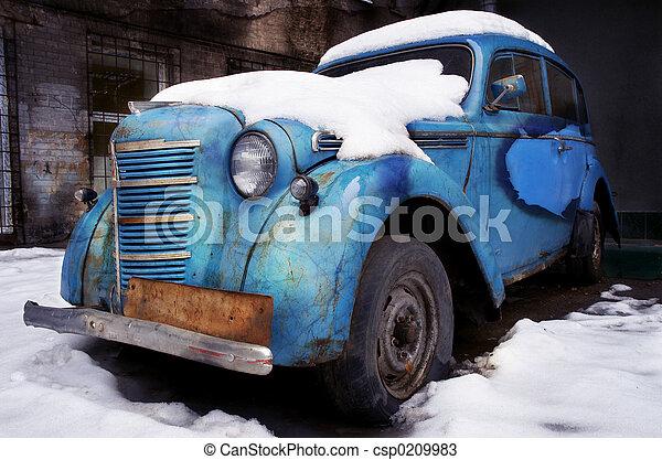 bil, retro - csp0209983