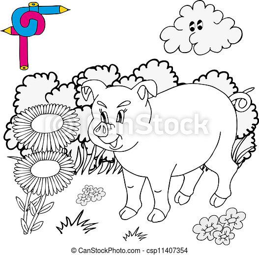 Großzügig Schwein Färbung Blatt Bilder - Beispiel Anschreiben für ...