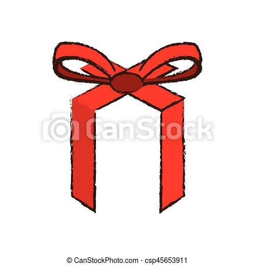 Geschenkband Frohe Weihnachten.Bild Schleife Rotes Frohe Weihnacht Geschenkband