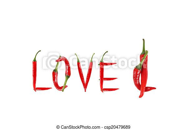 Chili Bilder bild wort geschrieben pfeffer liebe chili rotes bilder
